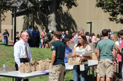 Convocation preps new students for college life
