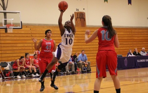 Lady Eagles win home opener over UW-Rock County