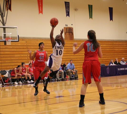 Lady Eagles win home opener over UW-Rock County