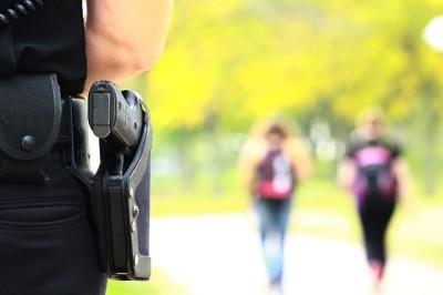 Oglesby police patrol campus