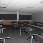 Many of the classrooms have been specifically designed to incorporate a specific type of class.