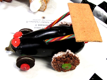Students take part in Edible Car Contest