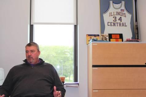 Herman starts journey as men's basketball coach