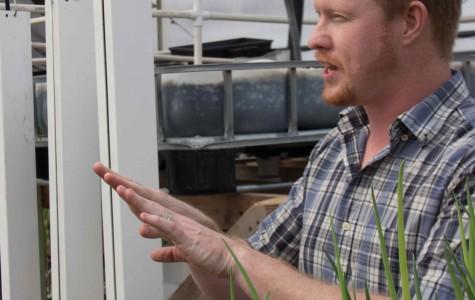 Olesen's aquaponics system promotes sustainability