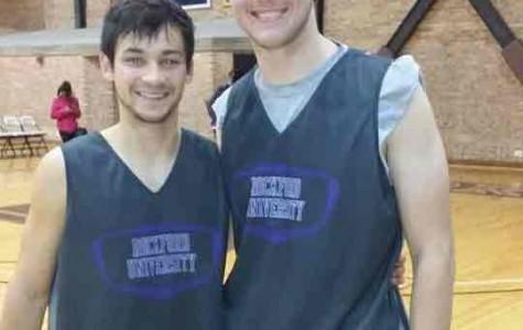 Blumhorst & Arteaga: Student-athlete duo