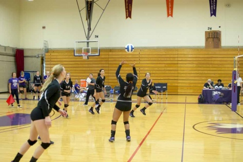 Lady Eagles volleyball shows dominance