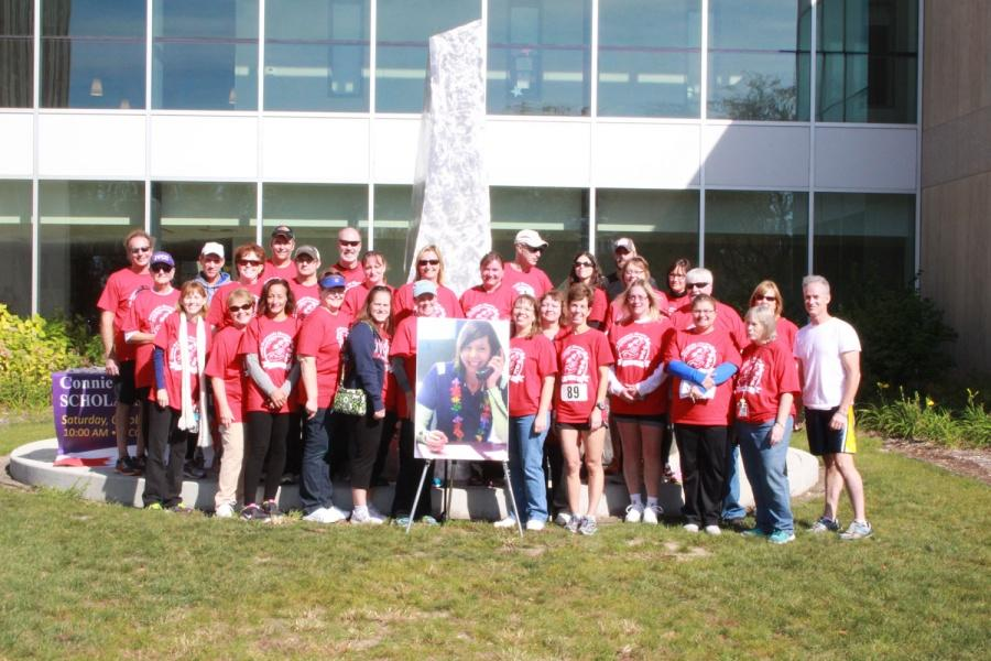 Hundreds walk, run to celebrate Dzierzynski Skerston's memory
