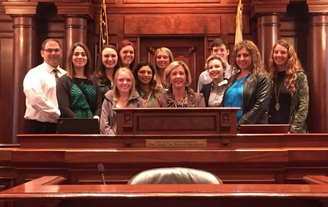 IVCC students become lobbyists in Springfield