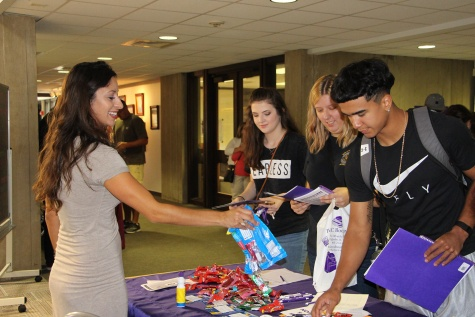 Officials credit outreach efforts in fall enrollment