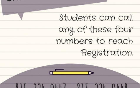 Students can register for fall, summer