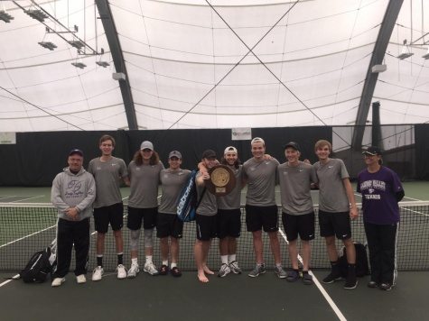 Eagles tennis posts win