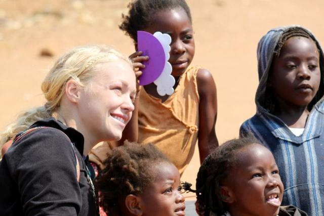 Student launches effort to help African children
