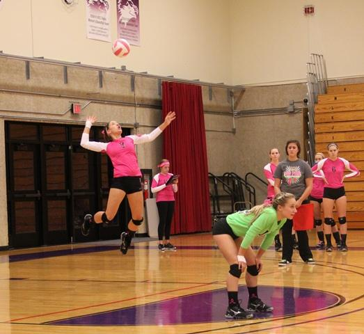 Volleyball ends season with regional loss vs. Kish
