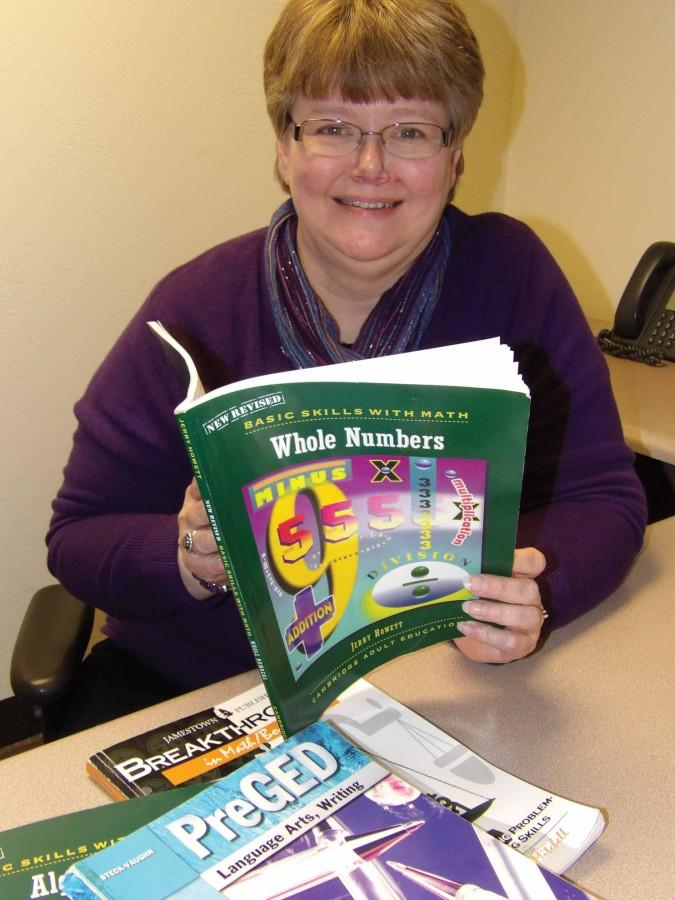 Diane Kreiser has a short commute from the IVCC accounting department to the adult education department, where she's spent a gratifying six years as a tutor. There's always someone she can help, she discovered.