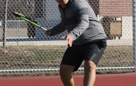 Men's spring tennis wrap-up