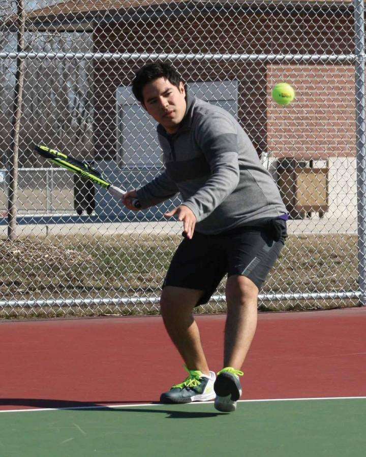 Men's spring tennis wrap-up