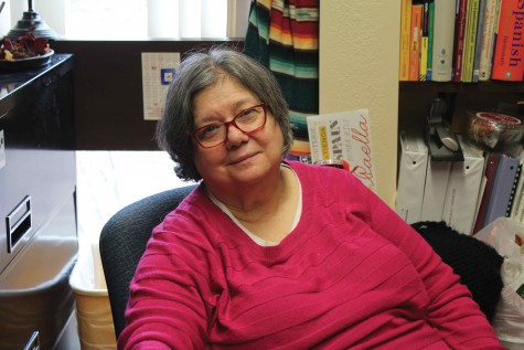Professor Anna Marie Pietrolonardo, who is retiring after this semester, taught transfer Spanish classes including 1001 and 2002 in addition to independent study courses. She plans on crossing things off her bucket list in her retirement.