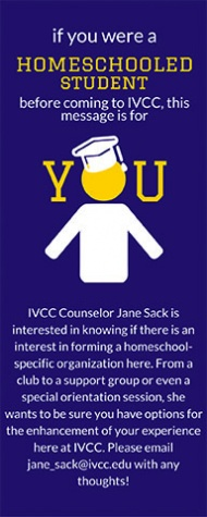 are you a homeschooled student looking to connect with other homeschooled students here at IVCC_(1)
