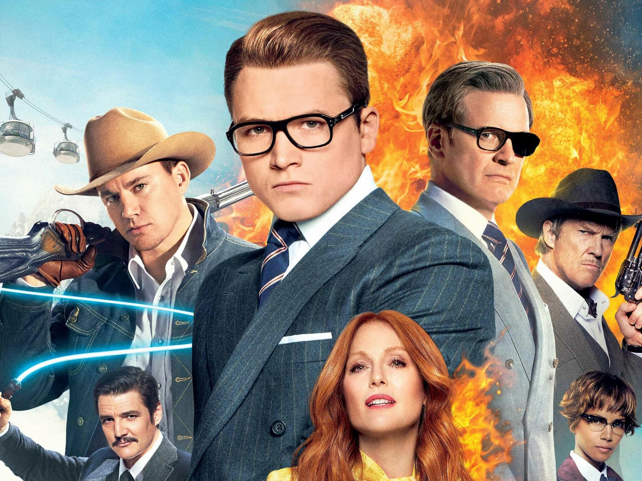 "Much anticipated   ""Kingsman: The Golden Circle"" premiered Sept. 18."