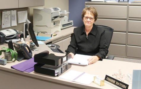 After more than 30 years at IVCC, Jeanne Hayden, executive assistant to the president, is retiring in December.