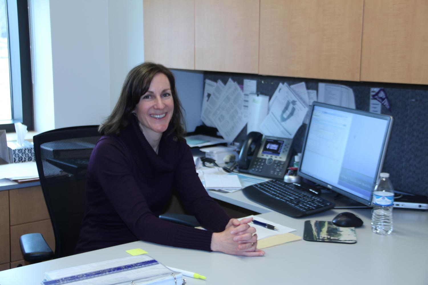 Helping others Amy Woods is IVCC's new financial aid advisor. She started in her new role in January.