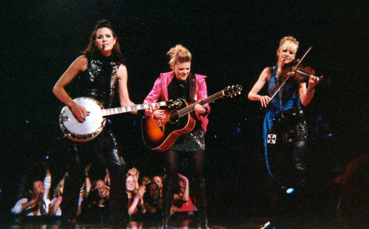 Relevance Doesn't Always Age The Dixie Chicks perform at Madison Square Garden in 2003.