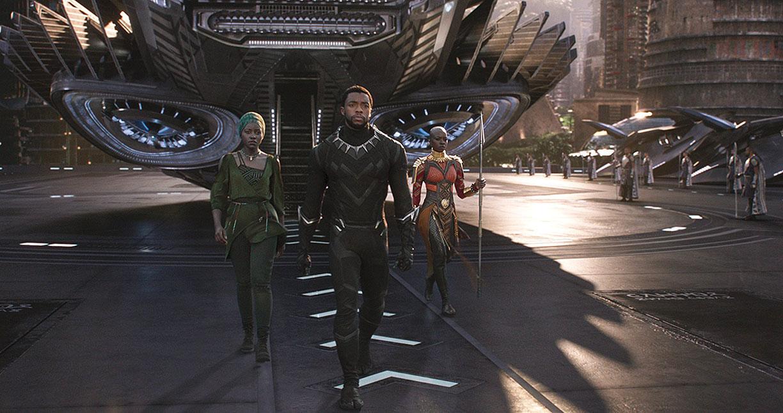 Prowl Chadwick Boseman, Danai gurira and Lupita Nyong'o appear in