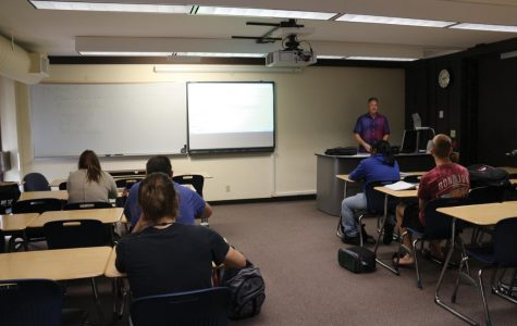An IVCC classroom consisting of some transfer academy students