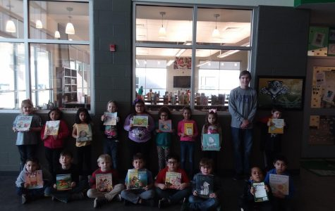 GIVING BOOKS TO KIDS