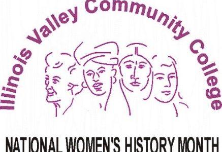 IVCC Women's History Month logo