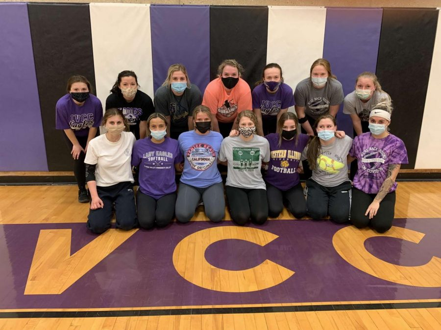 Lady Eagles softball team ready for season